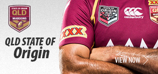 Queensland State of Origin Teamwear
